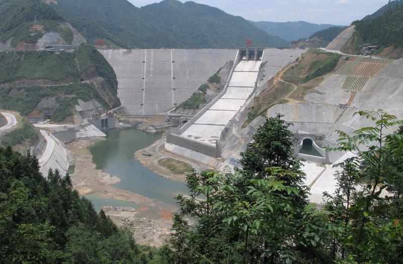 项目概况 :三板溪水电站位于贵州省沅水干流上游河段的清水江下游